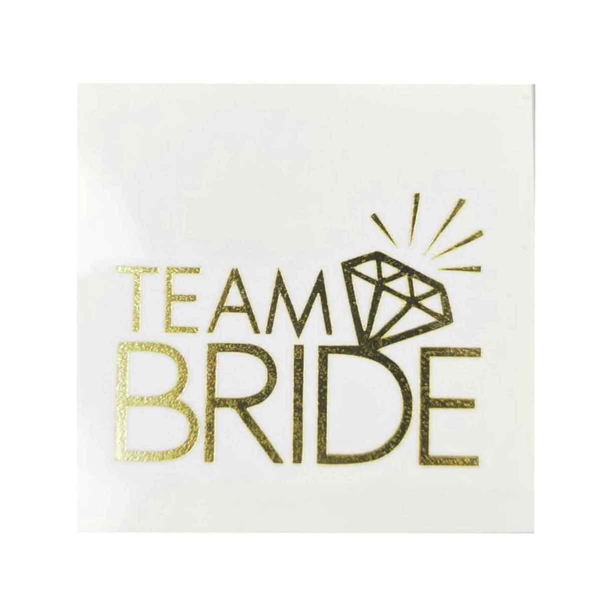 Team Bride Tektaş Gecici Dövme